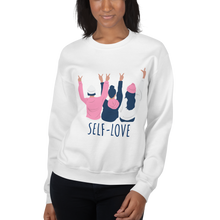 Load image into Gallery viewer, Self love squad Sweatshirt