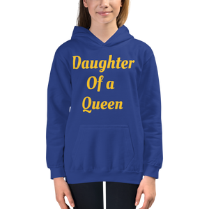 Daughter of a Queen Kids Hoodie