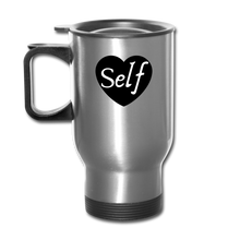 Load image into Gallery viewer, Self-Love Travel Mug - silver