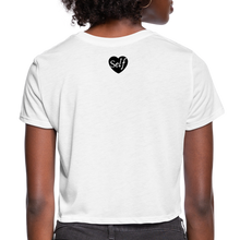 Load image into Gallery viewer, Self-Love Women's Cropped T-Shirt - white