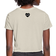 Load image into Gallery viewer, Self-Love Women's Cropped T-Shirt - dust