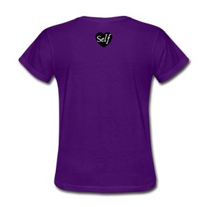 Self-Love is vital T-Shirt - purple