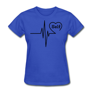 Self-Love is vital T-Shirt - royal blue