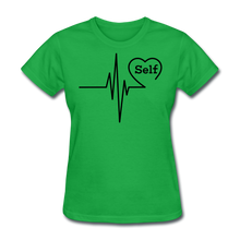 Load image into Gallery viewer, Self-Love is vital T-Shirt - bright green