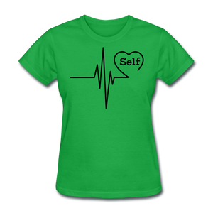 Self-Love is vital T-Shirt - bright green