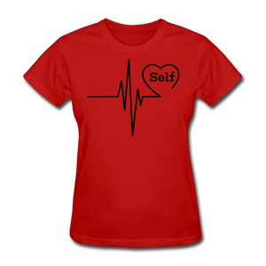 Self-Love is vital T-Shirt - red