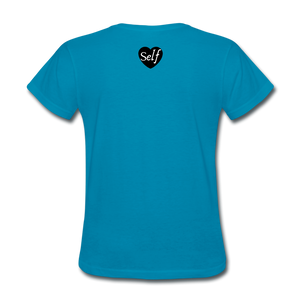 Self-Love is vital T-Shirt - turquoise