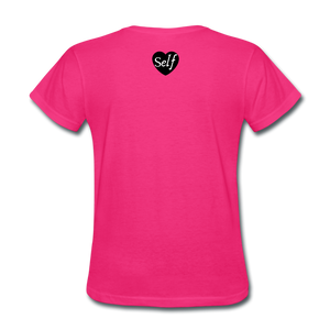 Self-Love is vital T-Shirt - fuchsia
