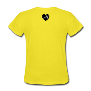 Self-Love is vital T-Shirt - yellow