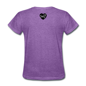Self-Love is vital T-Shirt - purple heather