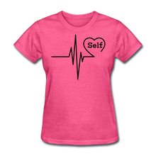 Load image into Gallery viewer, Self-Love is vital T-Shirt - heather pink