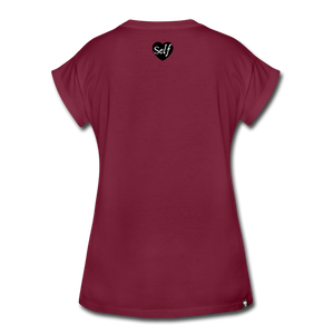Boss Up T-Shirt - burgundy