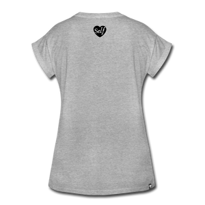 Boss Up T-Shirt - heather gray