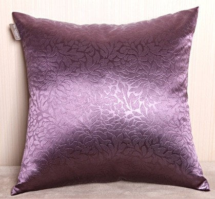 Sleek Rayon Mixed Cushion Covers in Choice of Colors