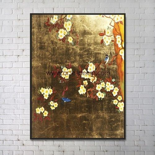 The Dance Of The Birds Canvas Painting