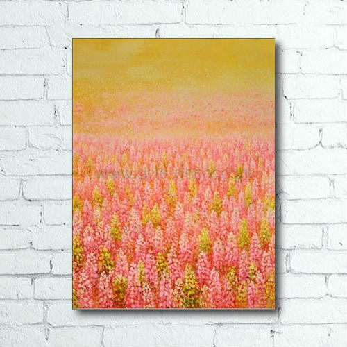 The Sunlit Field Canvas Oil Painting