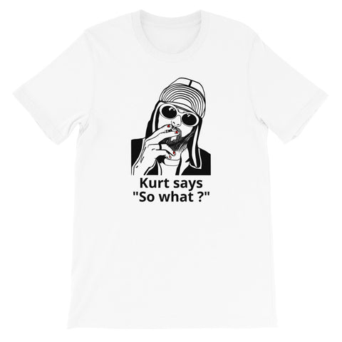 designedbybob iconic t-shirt kurt cobain