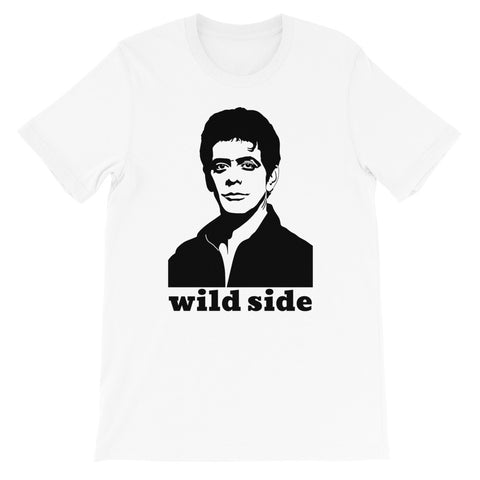 t-shirt Lou Reed Wild Side designedbybob
