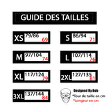 guide tailles tee shirt streetwear paris