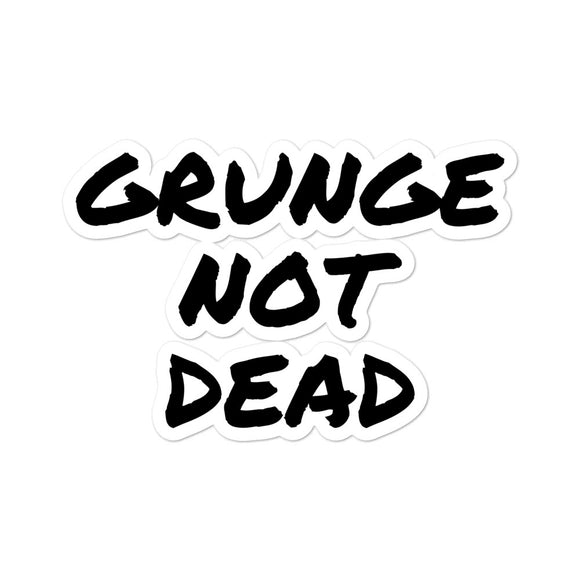 designedbybob stickers grunge not dead