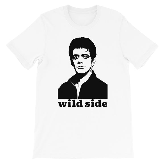 t-shirt lou reed take a walk on the wild side designedbybob