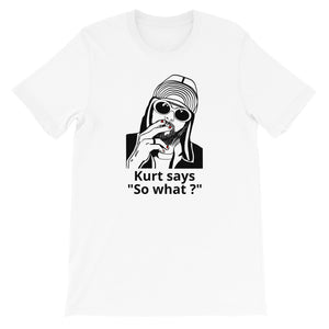 designedbybob t-shirt kurt cobain nirvana