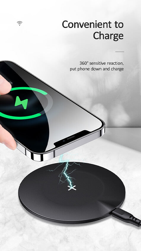 Ultra Thin 15 Watt Wireless Charger 15W