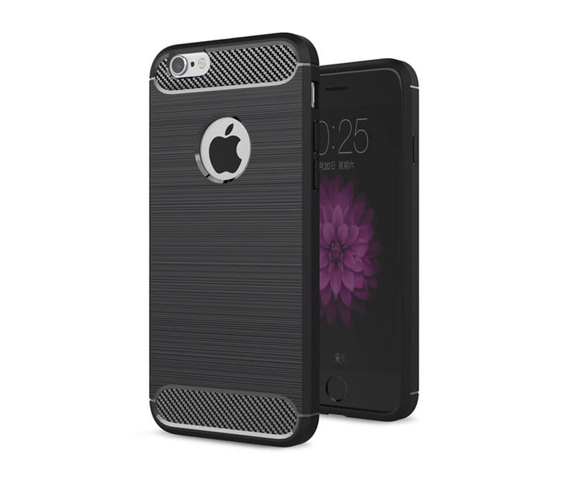 IPHONE 6/6S DURABLE TPU CASE - BLACK