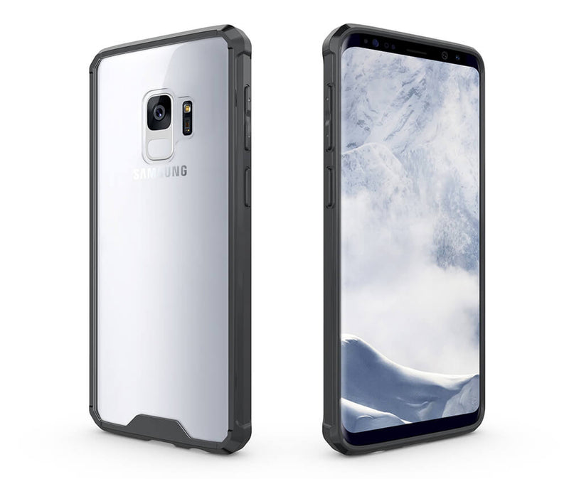 SLIM & PROTECTIVE TRANSPARENT TPU W/ RAISED EDGES for Galaxy A8+