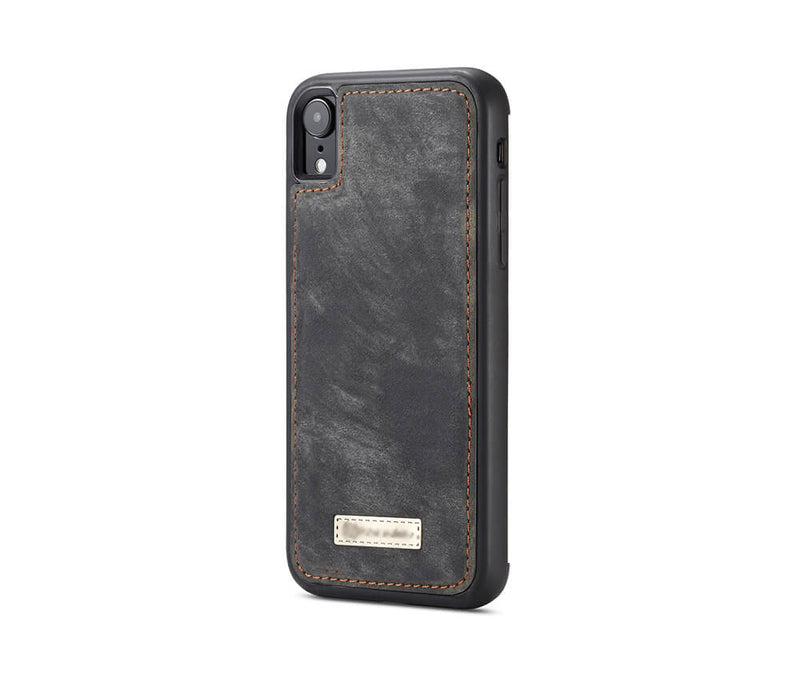 IPHONE XR DETACHABLE WALLET CASE - BLACK