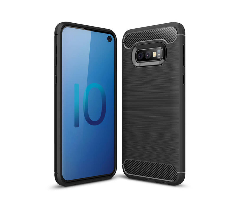 GALAXY S10E DURABLE TPU CASE - BLACK