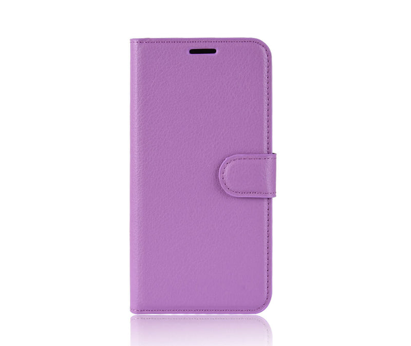 LITCHI LEATHER WALLET CASE for Galaxy S10e