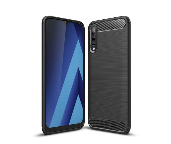 GALAXY A50 DURABLE TPU CASE - BLACK#Colour_Black