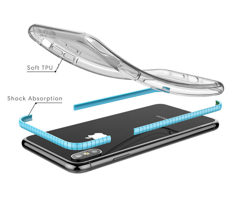 Clear Back Protective TPU Case