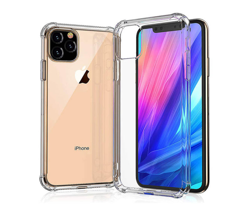 SLIM & PROTECTIVE TRANSPARENT TPU W/ RAISED EDGES for iPhone 11 Pro_2