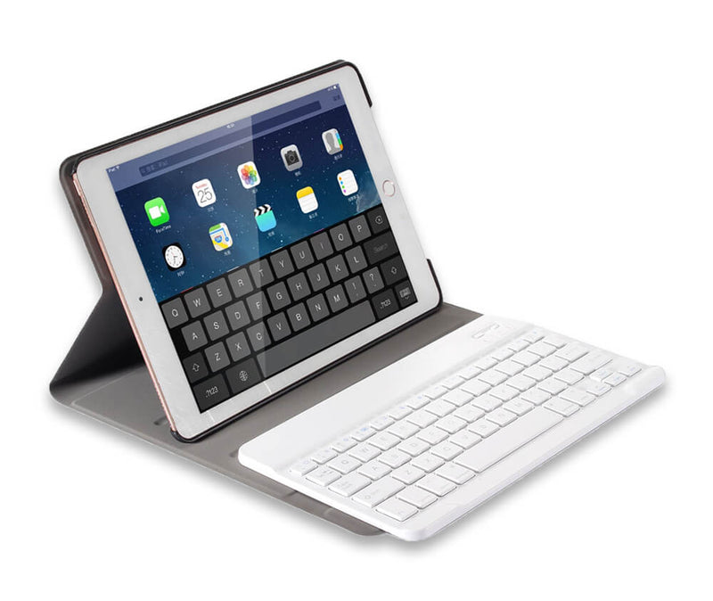 FOLIO BLUETOOTH CASE + KEYBOARD for iPad 7 10.2, iPad Air 3 10.5 & iPad Pro 10.5