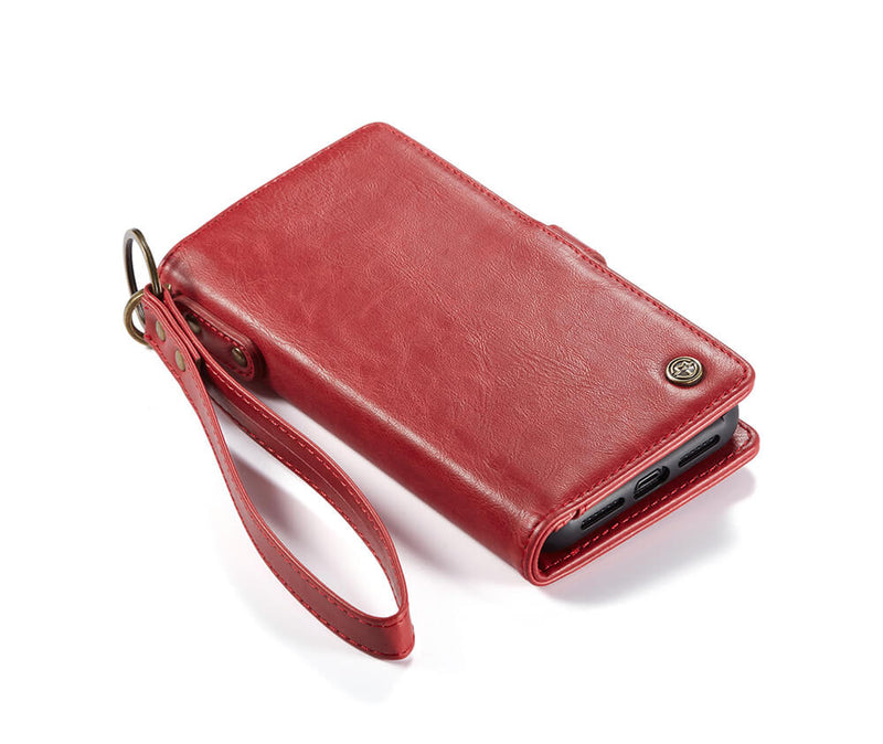 2-in-1 Detachable Leather Wallet for iPhone 12 & 12 Pro