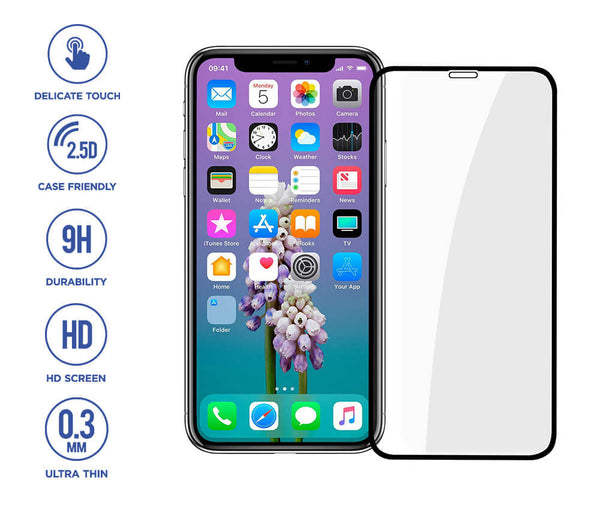 BASEUS FULL COVERAGE TEMPERED GLASS SCREEN PROTECTOR 2 PACK for iPhone X & iPhone 11 Pro_1