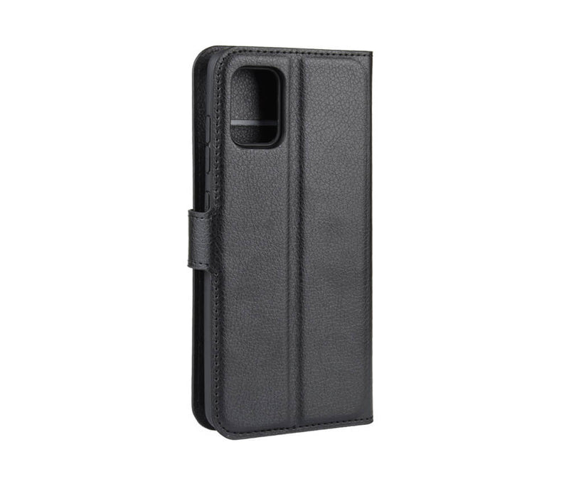 GALAXY A51 WALLET CASE - BLACK