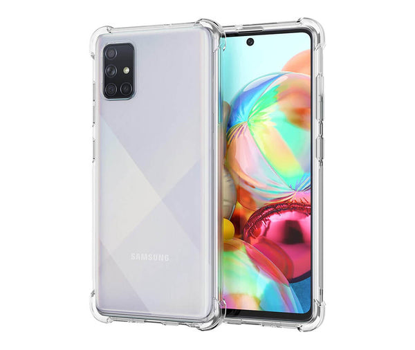 SLIM & PROTECTIVE TRANSPARENT TPU W/ RAISED EDGES for Galaxy A71 5G_1