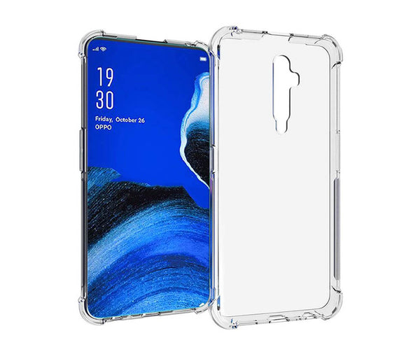 SLIM & PROTECTIVE TRANSPARENT TPU W/ RAISED EDGES for Oppo Reno2 Z_1