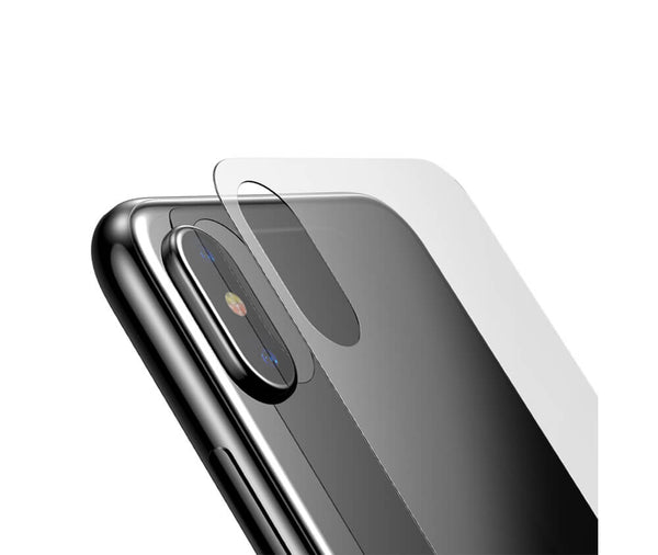 BASEUS FULL COVERAGE BACK TEMPERED GLASS SCREEN PROTECTOR for iPhone X & XS