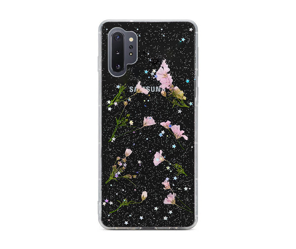 DRIED DAISY FLOWER TRANSPARENT CASE for Galaxy Note 10+_1