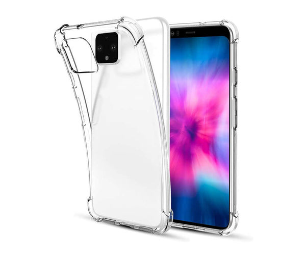SLIM & PROTECTIVE TRANSPARENT TPU W/ RAISED EDGES for Pixel 4 XL_1
