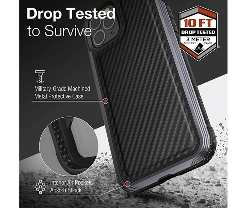 X-DORIA RAPTIC LUX LEATHER for iPhone 12 & 12 Pro