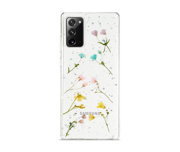 DRIED PETAL FLOWER TRANSPARENT CASE for Galaxy Note 20_2