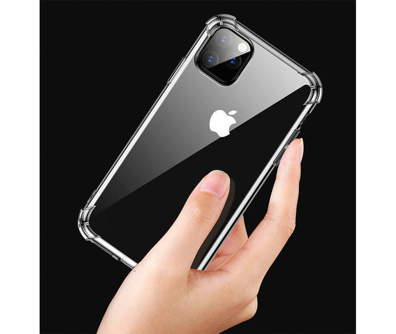 Slim & Protective Transparent TPU with Raised Edges