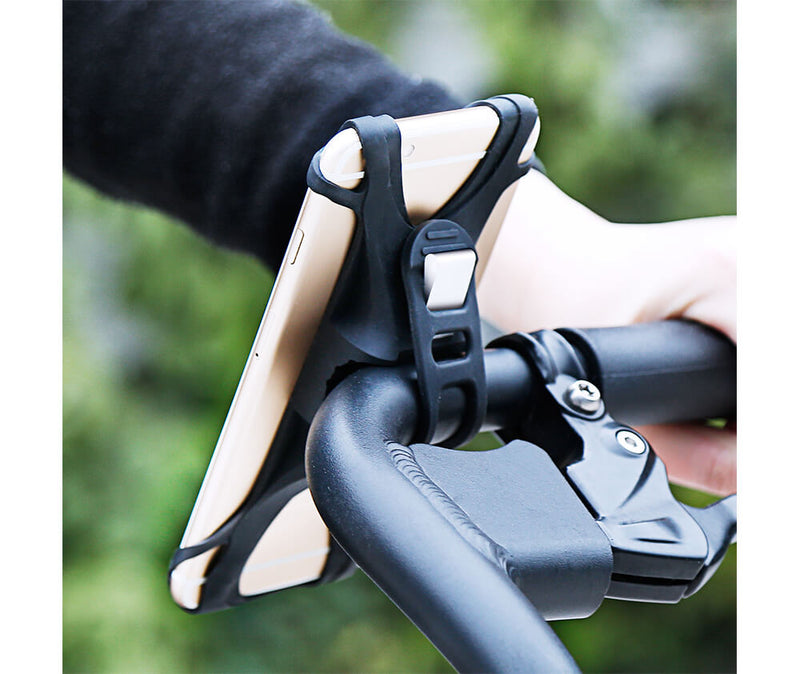 Bicycle Silicon Phone Holder for Mobile Phones_6