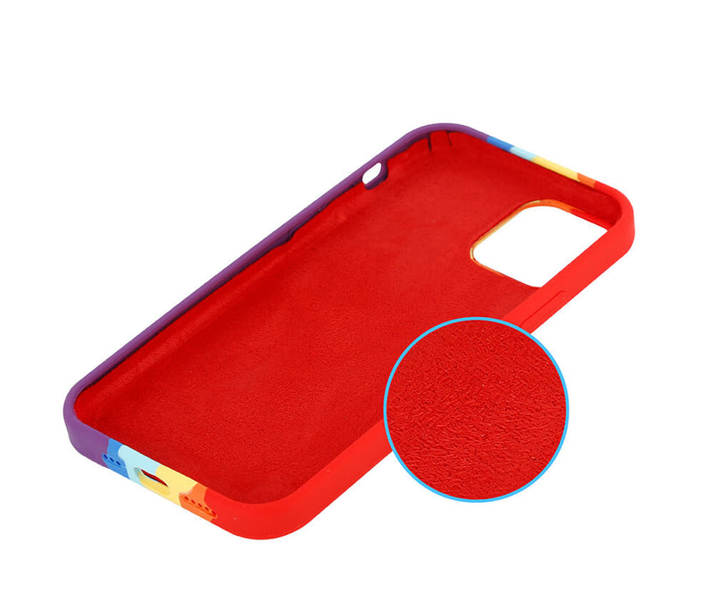 Shockproof Silicon Rainbow Protective Case