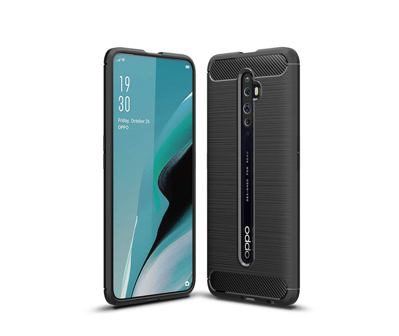 DURABLE CLEAR TPU CASE for Oppo Reno2 Z